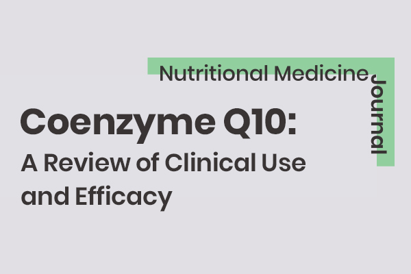 Coenzyme Q10: A Review of Clinical Use and Efficacy